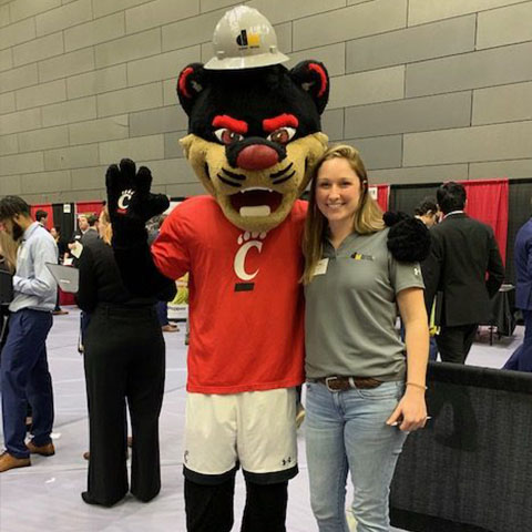 Dugan & Meyers at the 2020 UC Spring Career Fair