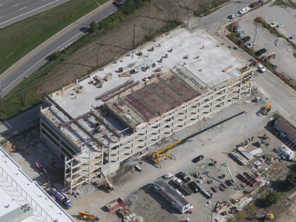 kilbourne garage aerial view